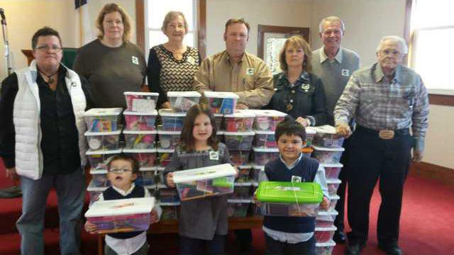 Banks CP Church Shoebox Ministry Picture