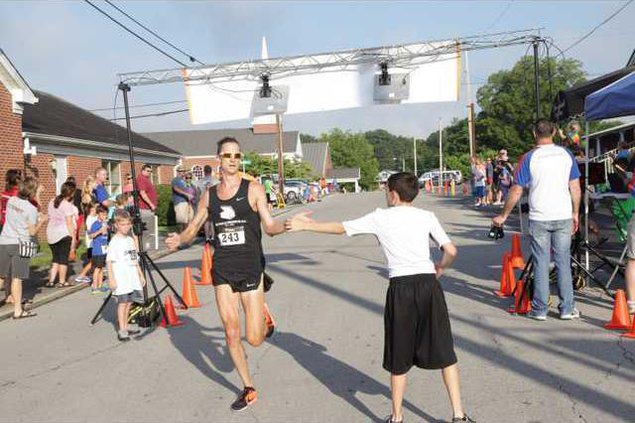 Brian Shelton of Cookeville took the overall top spot with a course record time of 16 12 RV