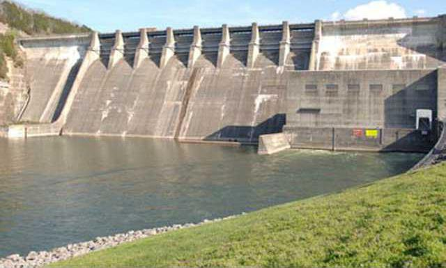 Center Hill Dam w sm