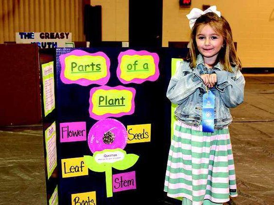Sophia Pepper PreK Experiment First Place