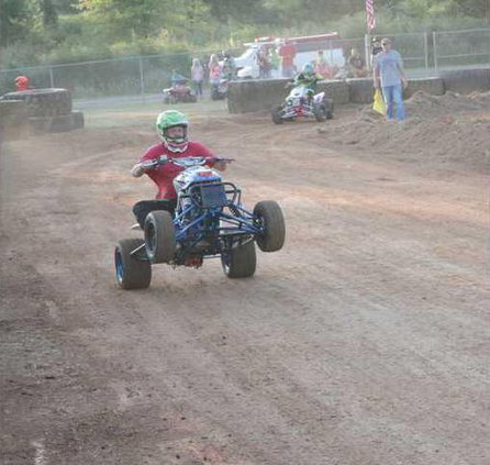 ATV races will be held at the fair on Thursday night.