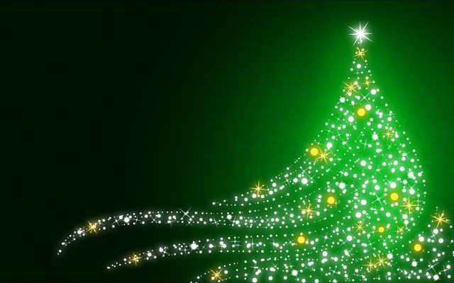 green-christmas-image