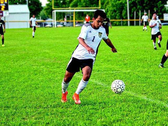 Cristobal Flores w soccer for bottom front