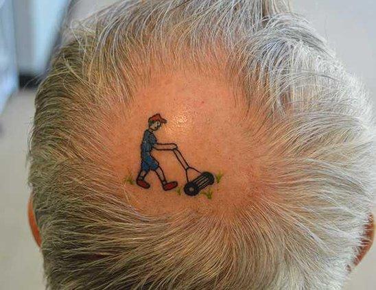 Tattoo head original