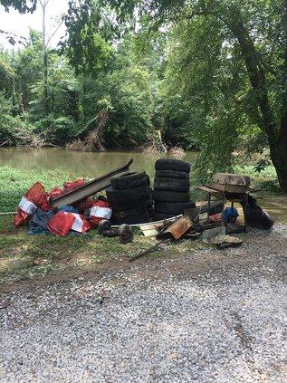 River Cleanup trash.jpg