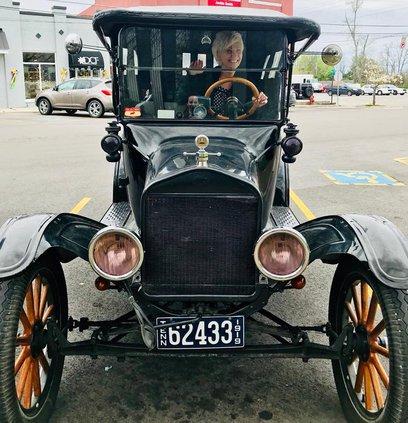 Williams in Model T