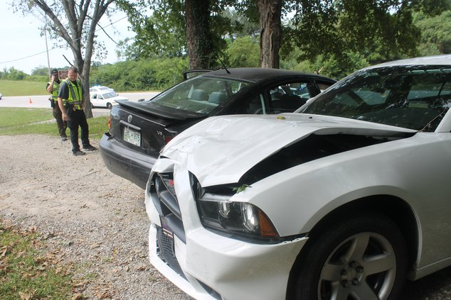 Police crash 1
