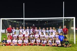 DMS lady saints soccer