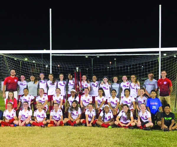 DMS lady saints soccer