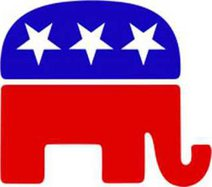 Republican Party logo insert fair use for news c GOP